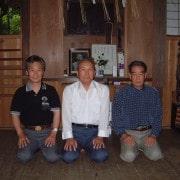 Наши учителя: Иидзаса Сюриносукэ Ясусада, Отакэ Рисукэ Сенсей, Хиронобу Ямада Сэнсэй
